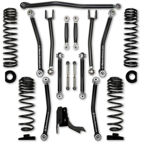 "Rock Krawler JT Gladiator Rubicon 3.0 Inch X Factor ""No Limits"" Suspension System"