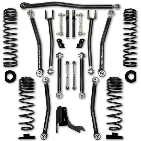 Rock Krawler JT Gladiator Sport/Overland 3.0 Inch X Factor Suspension System