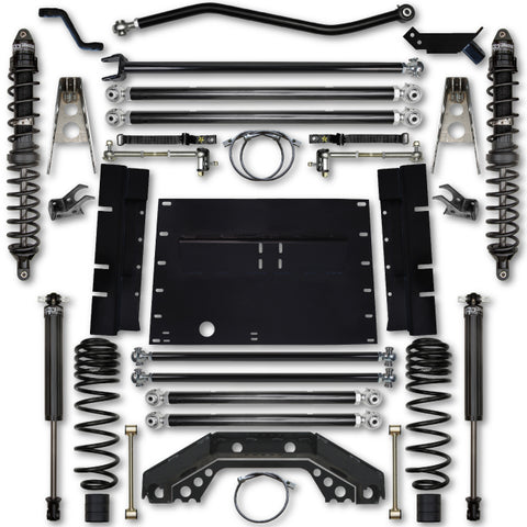 Rock Krawler TJ 3.5 Inch X Factor Long Arm Stg 1 Lift Kit w/ Coilover Shocks 97-02 Wrangler