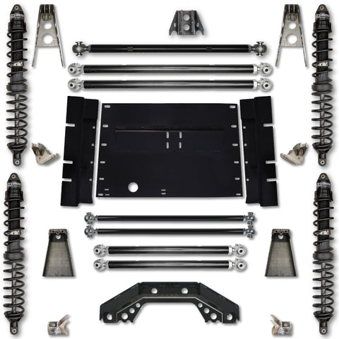 Rock Krawler TJ 4.5 Inch Trail Runner Stg 1 Coilover Long Arm Lift Kit 03-06 Wrangler