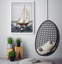 Sailing alone Oil painting on canvas by London Artlife