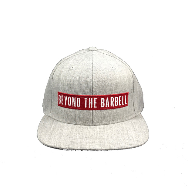 Snapback Label Heather Grey