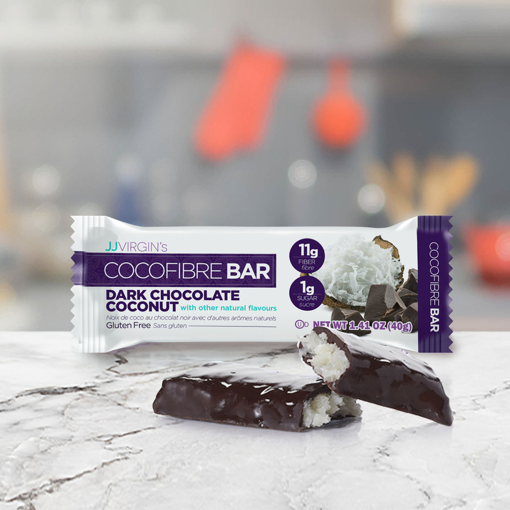 Dark Chocolate Coconut Fiber Bar - Box of 12