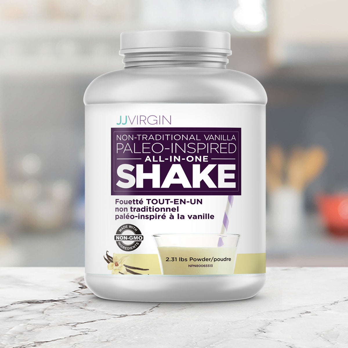 Paleo-Inspired All-In-One Shake - Vanilla - Promo