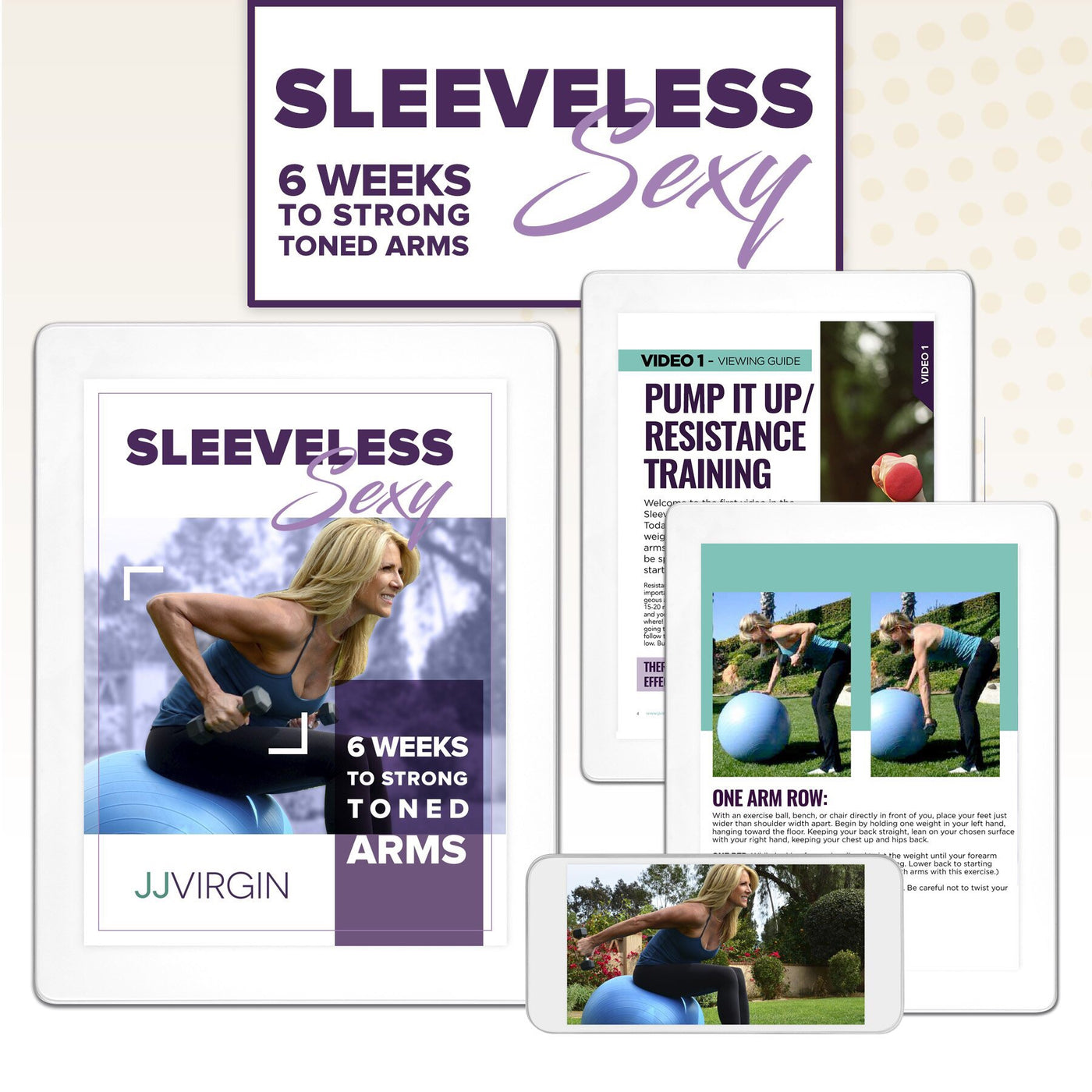 Sleeveless & Sexy Online Program