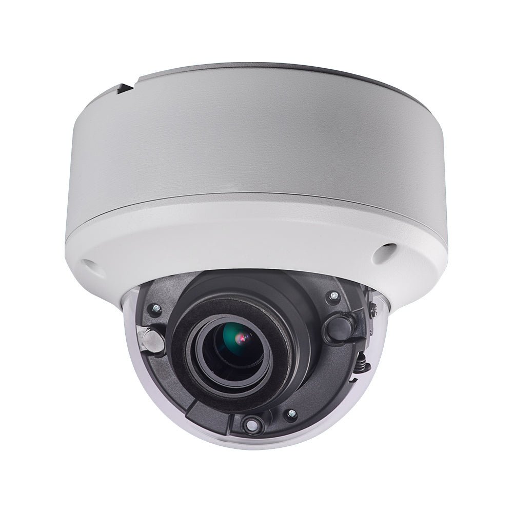 Hikvision DS-2CE56H5T-VPIT3ZE OEM 5MP HD-TVI Dome Security Camera Power Over Coax (PoC) One Cable Solution 2.8~12mm Motorized Varifocal Lens