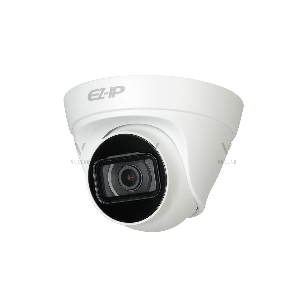 DAHUA IPC-T1B40, H.265+ 4MP IP Turret IR Camera with 2.8mm Fixed Lens