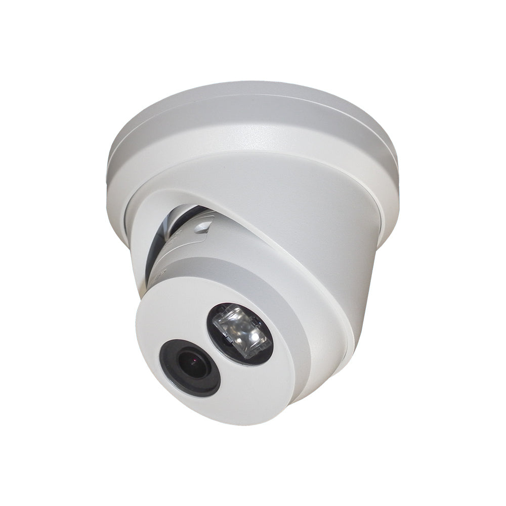 Hikvision DS-2CD2345FWD-I OEM H.265+ 4MP IP Network PoE IR Turret Security Camera DarkFighter Ultra Low Light True WDR 2.8mm Wide Angle Lens