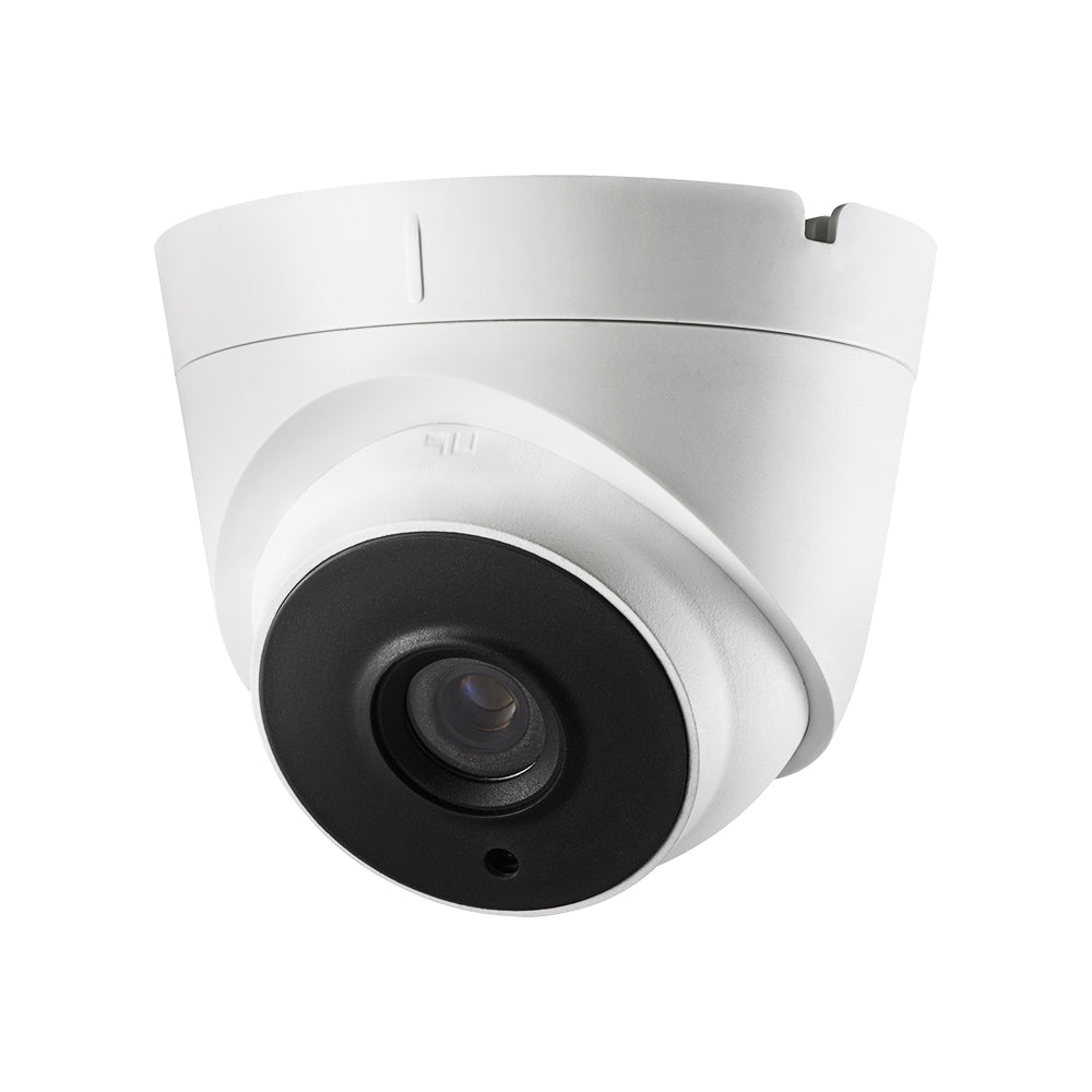 Hikvision DS-2CE56H5T-IT1E OEM 5MP HD-TVI Turret Security Camera Power Over Coax (PoC) One Cable Solution 2.8mm Wide Angle Lens