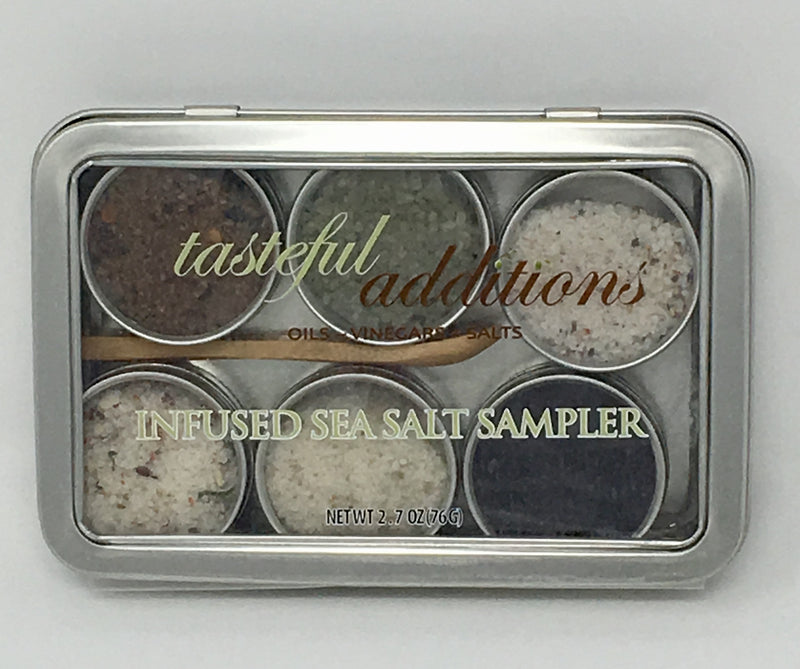 Infused Sea Salt Sampler