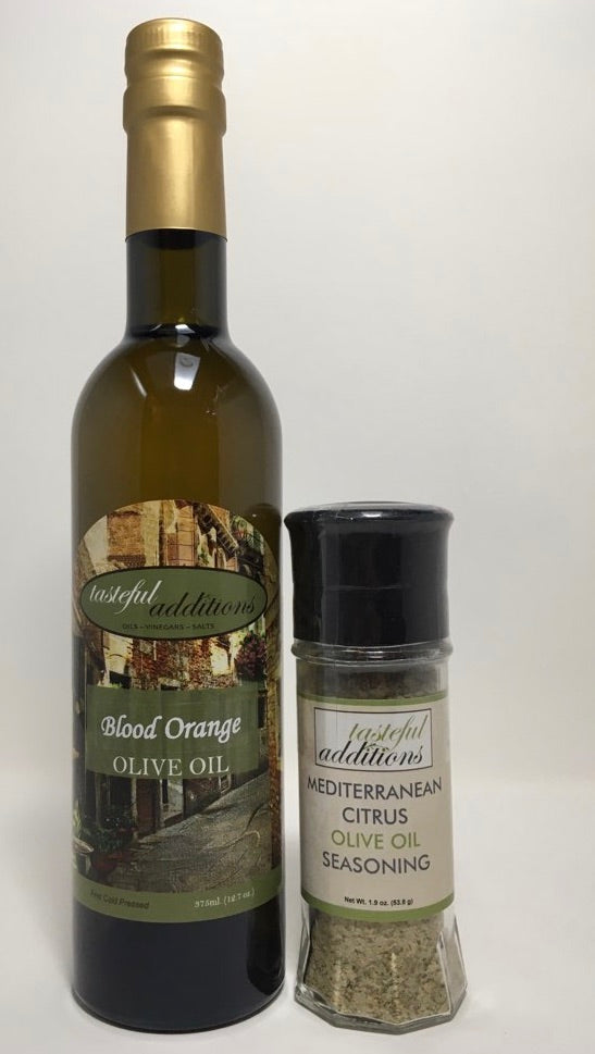 Mediterranean Citrus Olive Oil Seasoning