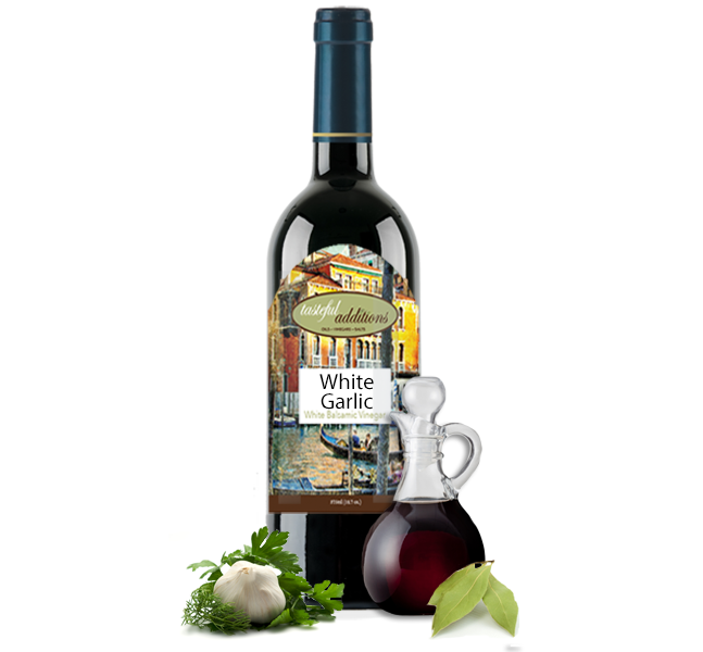 Garlic White Balsamic Vinegar