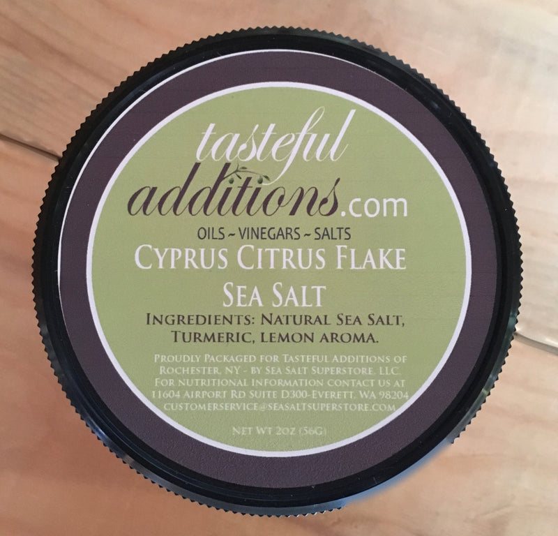 Cyprus Citrus Flake Sea Salt