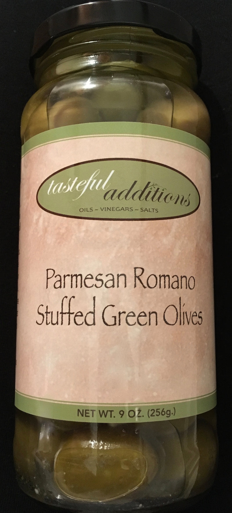 Parmesan Romano Stuffed Green Olives