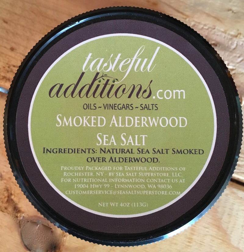 Smoked Alderwood Sea Salt