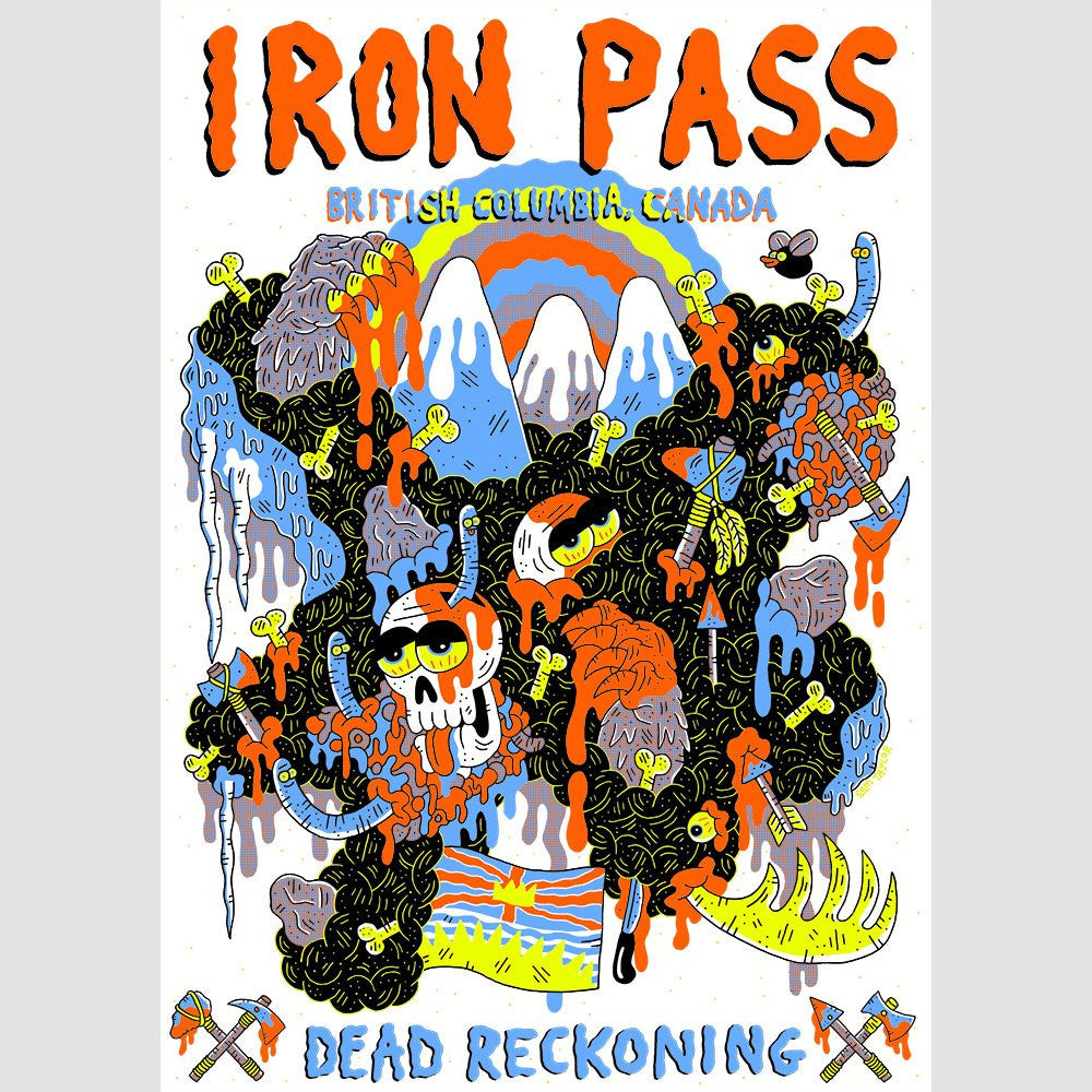 Dead Reckoning: Iron Pass Print