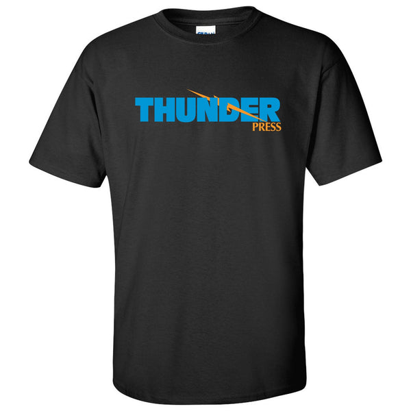 Thunder Press T-Shirt - Black