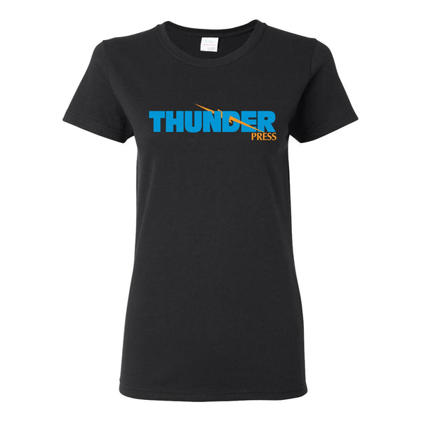 Thunder Press Ladies T-Shirt - Black