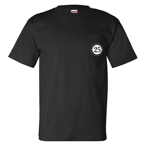Thunder Press Limited Edition Pocket T-Shirt - Black