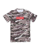 Red Box Logo camo tee (2 colors) - unisex