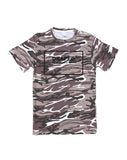 International camo tee (black or white design) - unisex