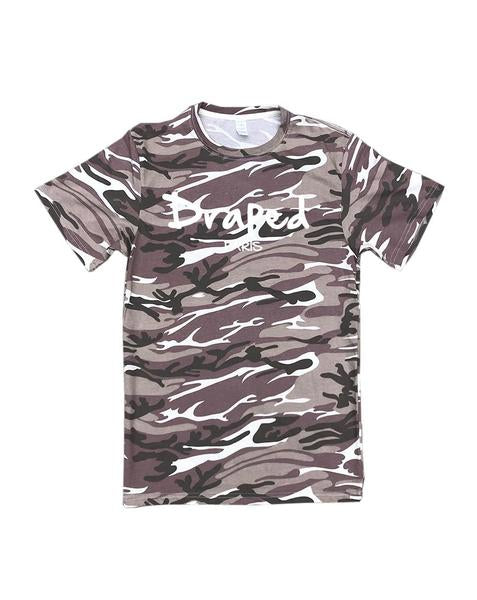 Paris camo tee (2 colors) - unisex