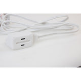 Axis 45503 3-Outlet White Wall Hugger Indoor Extension Cord, 6ft-Appliance Accessories Tools & RTO-Axis-Luxurychill