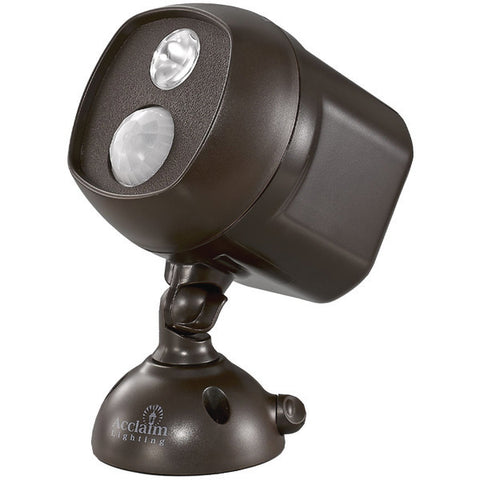 Acclaim Lighting B225BZ Motion-Activated LED Spotlight (Bronze)-Outdoor Recreation & Fitness-Acclaim Lighting-Luxurychill