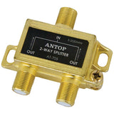 ANTOP Antenna Inc. AT-705 2-Way 2GHz Low-Loss Coaxial Splitter-Home Theater & Custom Install-Antop Antenna Inc.-Luxurychill