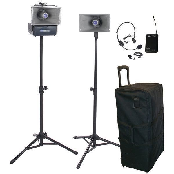 AmpliVox SW630 Half-Mile Hailer Kit-Pro Audio & Home Entertainment-Amplivox-Luxurychill