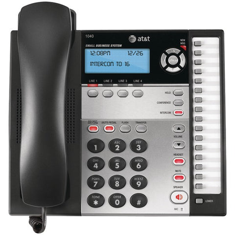 AT&T 1040 4-Line Speakerphone-Computer Peripherals & Home Office-At&t-Luxurychill