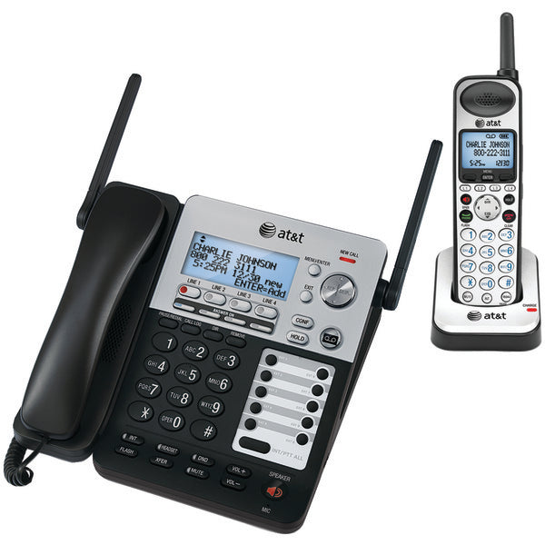 AT&T ATTSB67138 SynJ 4-Line Expandable Business Phone System-Computer Peripherals & Home Office-At&t-Luxurychill