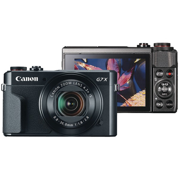 Canon 1066C001 20.1-Megapixel PowerShot G7 X Mark II Digital Camera-Portable & Personal Electronics-Canon-Luxurychill