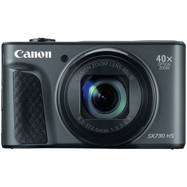 Canon 1791C001 20.3-Megapixel PowerShot SX730 Digital Camera (Black)-Portable & Personal Electronics-Canon-Luxurychill