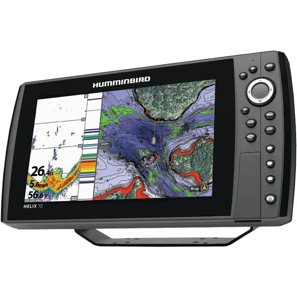 Humminbird 410100-1 HELIX 10 CHIRP GPS G2N Fishfinder-Outdoor Recreation & Fitness-Humminbird-Luxurychill