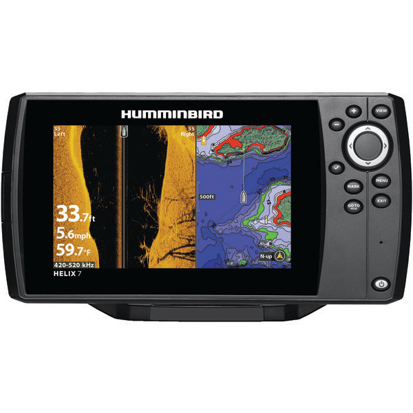 Humminbird 410340-1NAV HELIX 7 CHIRP SI GPS G2N Fishfinder with Navionics-Outdoor Recreation & Fitness-Humminbird-Luxurychill