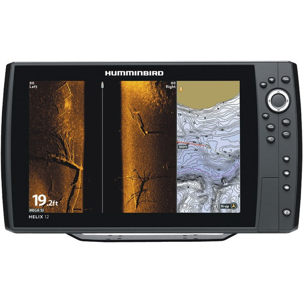 Humminbird 410380-1 HELIX 12 CHIRP MEGA SI GPS G2N Fishfinder-Outdoor Recreation & Fitness-Humminbird-Luxurychill