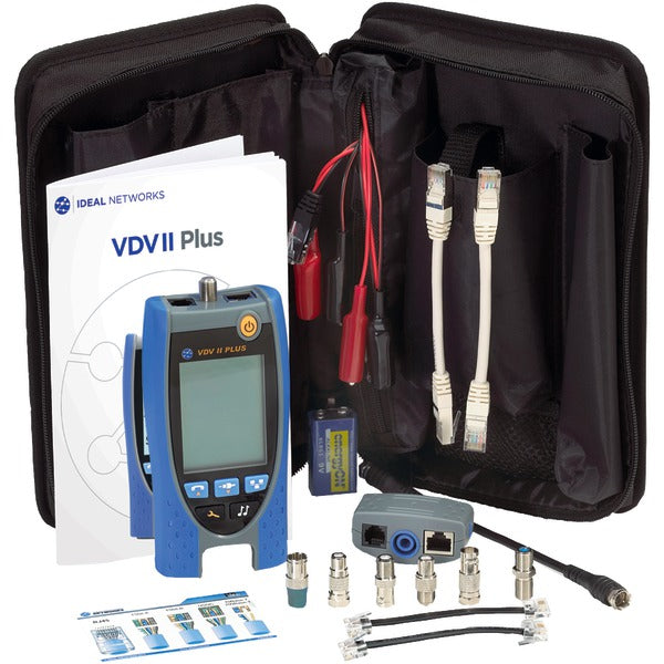 IDEAL R158002 VDV II Plus Tester Kit-Appliance Accessories Tools & RTO-Ideal-Luxurychill