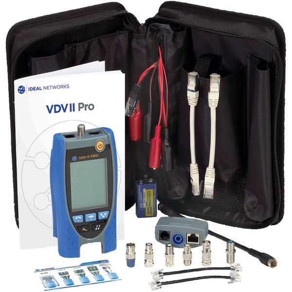 IDEAL R158003 VDV II Pro Tester Kit-Appliance Accessories Tools & RTO-Ideal-Luxurychill
