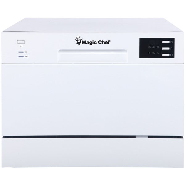 Magic Chef MCSCD6W5 6-Setting Countertop Dishwasher-Housewares & Personal Care-Magic Chef-Luxurychill