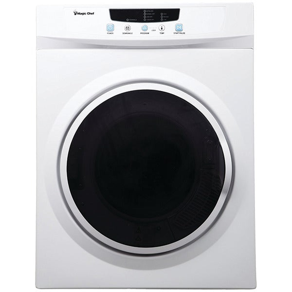 Magic Chef MCSDRY35W 3.5 Cubic-ft Electric Dryer-Housewares & Personal Care-Magic Chef-Luxurychill