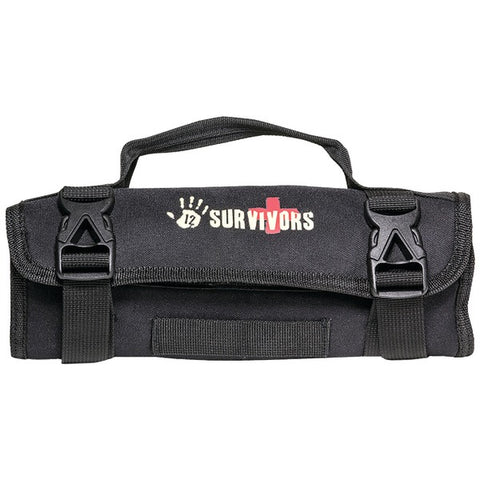 12 Survivors TS42002B Mini First Aid Rollup Kit-Outdoor Recreation & Fitness-12 Survivors-Luxurychill