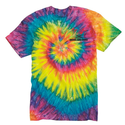 Rap Noir x Drums and Ammo T-Shirt (Tie Dye)