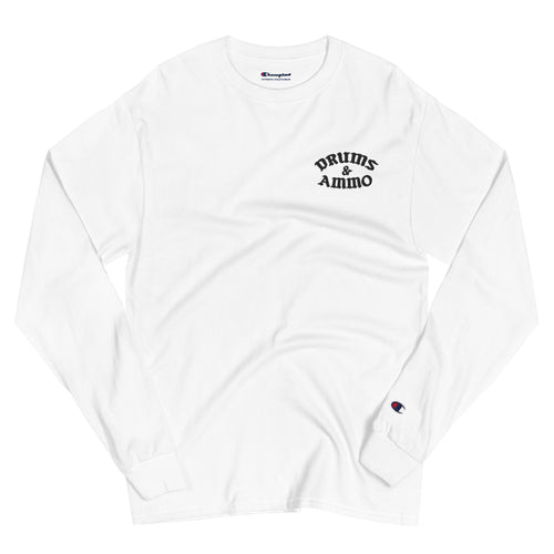 Drums & Ammo Champion Long Sleeve Shirt