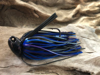 1/2oz WHACKED BRUSH HEAD JIG ~ BRUISER