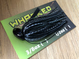 1/2oz WHACKED BRUSH HEAD JIG ~ DARTH VADER
