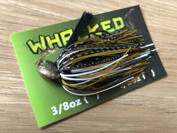 1/2oz WHACKED BRUSH HEAD JIG ~ BATTLE TOAD