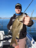 1/2oz WHACKED FOOTBALL JIG ~ BLACK