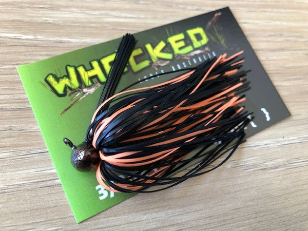 1/4oz WHACKED FOOTBALL JIG - BRONZE TIGER