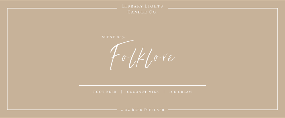 Reed Diffuser - 003. Folklore